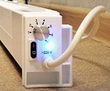 Плинтусные абагравальнікі электрычныя