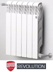 Алюминиевые радиаторы Revolution (Royal Thermo)
