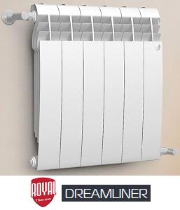 Алюминиевый радиатор DreamLiner (Royal Thermo)