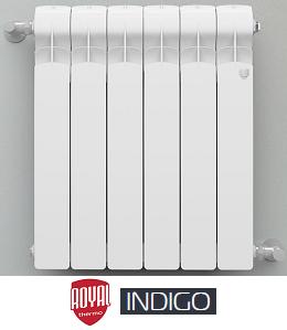 Алюминиевый радиатор Indigo (Royal Thermo)