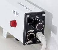Управление плинтусным электроконвектором Megador.